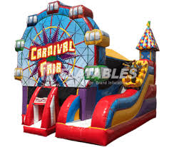 commercial bounce houses slide combos for
