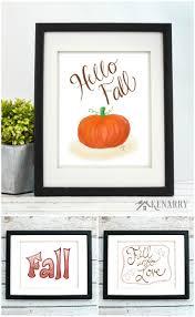 Halloween Decor For The Home Fall Art 12 Autumn Halloween U0026 Thanksgiving Prints Kenarry