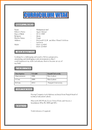Job Profile In Resume by Sample Profile In Resume Free Resume Example And Writing Download