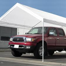 Steel Canopy Frame by Caravan Canopy Carport 10x20 U0027 Water Resistant Portable Garage
