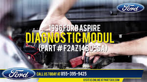 ford part f2az14b056a 1996 ford aspire diagnostic module youtube