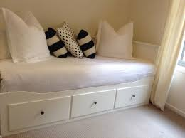 brimnes daybed hack daybeds white stained wood ikea daybeds with drawers for home