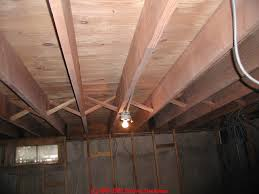 Removing Mold From Ceiling by How To Clean Mold On Building Framing Lumber Or Plywood Sheathing
