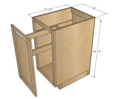 kitchen cabinet blueprints diy pull out trash can in a kitchen cabinet amazing idea trash