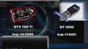 pubg 750 ti what is the best budget gpu nividia gt 1030 vs nvidia gtx 750 ti