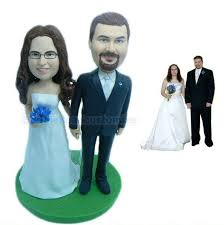 cake toppers bobblehead all products bobble dolls valentines day gift custom
