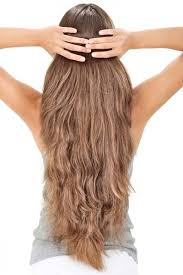 how to cut hair straight across in back very long curly hair from the back really long hair back viewshaped