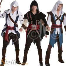 Assassin Creed Halloween Costume Assassins Creed Costume Adults Fancy Dress Ebay