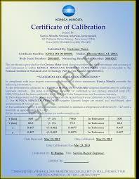 calibration konica minolta sensing