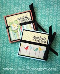s brag book photo album accordian albums if you don t use any ribbon these would make
