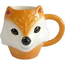mainstays figural fox mug set of 4 walmart com