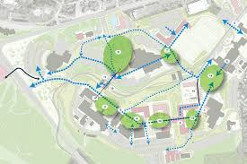 wvu evansdale map evansdale crossing it s all about connections strada a cross