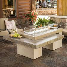 Faux Stone Patio by Top 15 Types Of Propane Patio Fire Pits With Table Buying Guide