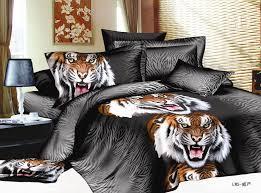 Tiger Comforter Set Wolf Print 100 Micro Fiber 3d Printing Bedding Comforter Set