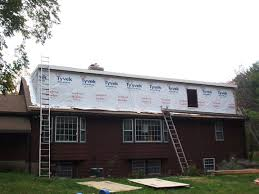 Cost Of Dormer Window Upstairs Dormer Addition To A Ranch Tyvek House Wrap On Rear
