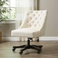linen desk chair linen office chairs joss