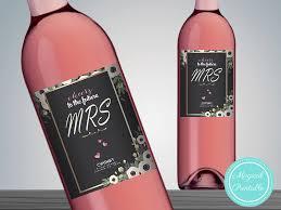 custom wine bottle labels bows