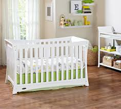 How To Convert Graco Crib Into Toddler Bed by Graco Tatum Fixed Side Convertible Crib White Babies