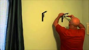 Wooden Wall Shelves With Brackets Installing A Wood Shelf On The Wall With Brackets Youtube