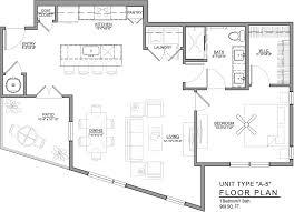 technical floor plan downtown kansas city luxury apartments floor plans 531 grand