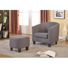 Chair  Ottoman Sets Youll Love Wayfair - Chairs with ottomans for living room