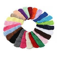 crochet bands 8 crochet headbands assorted 12 pack tutu tops for