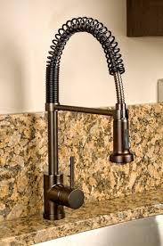 bronze kitchen sink faucets bronze kitchen faucets moen 7185orb brantford onehandle high arc