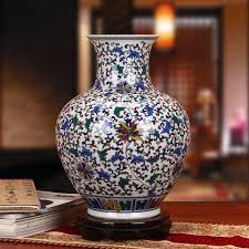 Blue And White Vases Antique Aliexpress Com Buy Jingdezhen Chinese Porcelain Vase Antique