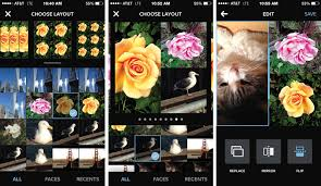 instagram splashes with layout a new collage app for iphone