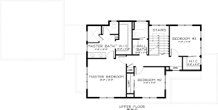 2 floor plan craftsman style house plan 3 beds 2 50 baths 2138 sq ft plan 895 2