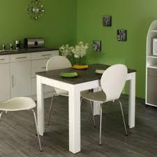 cuisine rectangulaire table de cuisine rectangulaire contemporaine blanche béton daliane