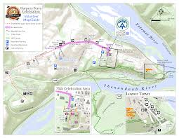 Washington Dc Parking Map by Appalachian Trail Conservancy 75th Anniversary Harpers Ferry