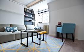 london studio space saving interior design