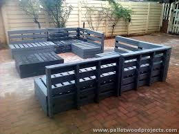 Outdoor Wood Sectional Furniture Plans by 688 Best Pallets Garden U0026 Patio Images On Pinterest Gardening