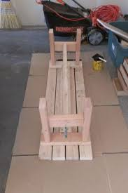 Bench Made From 2x4 A Glue Up Of A Simple Box Joint 2x4 Bench Advertised As A 350