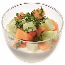 honey whipped cottage cheese with melon fitness magazine