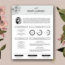 Resume Free Templates Word Professional Resume Template Word U0026 Page Compatible Best Cv