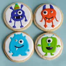 halloween monster cookies one dozen