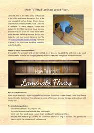 Is It Easy To Install Laminate Flooring How To Install Laminate Wood Floors By Ben Parker Issuu