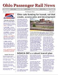 Ohio travel stories images July 2017 e edition newsletter all aboard ohio advocacy group jpg