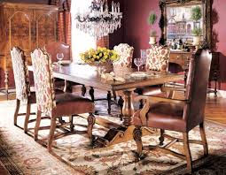 Tuscan Style Homes Interior by Decorating Tuscan Dining Table