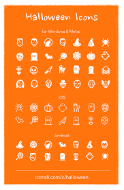 metro ios and android fashion icons halloween freebie egrappler