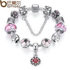 beaded silver bracelet images Crystal beads diamond tibetan silver bracelet female diy beaded jpg