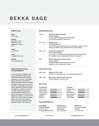 current resume u2013 bekka sage