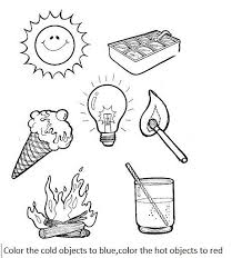 or cold activity worksheets for preschool crafts and