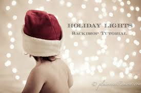Photo Backdrop Holiday Lights Photo Backdrop Tutorial Plain Vanilla Mom