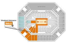 thompson boling arena big orange tix women s games student seating