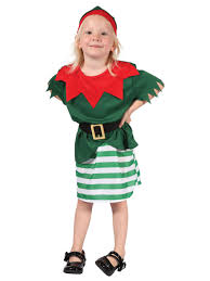 toddler kids elf costume kids girls christmas fancy dress santa