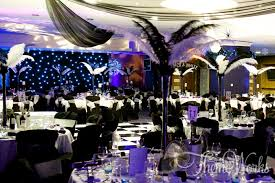 themed party black and white themed event bond 007 prom grad theme