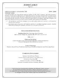 Substitute Teacher Resume Samples Assistant Teacher Resume Resume For Your Job Application